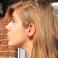 Boucles d'oreille Macaron Coco - Framboise | Chez Laurette | Macarons | Fait main