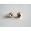 Boucles d'oreille Donuts colorés   Chez Laurette   Donuts   Fait main