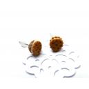 chez laurette   Biscuits   boucles d'oreille   puces d'oreille   bijoux gourmand   fait main   fimo   pate polymère   montreal