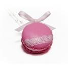 Macaron - Rose glacée & Dentelle