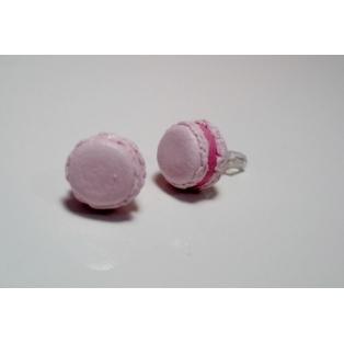 Macaron - Rose givrée