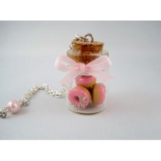 Fiole de Donuts à la rose
