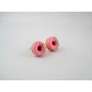 Donuts à la rose sucrée