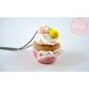 Cupcakes et Cocos,chez laurette, bijoux gourmand, polymere, fimo, cupcake, pâques, oeuf, fait main