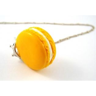 Macaron Princesse Citron