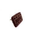 Bague Biscuit choco chezlaurette montreal bijoux gourmand