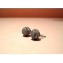 Macarons pailletés | Puces, bijoux gourmands, pate polymere, fimo, macaron, puces d'oreille, boucle d'oreille, fait main