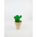 Cactus 3, chez laurette, cactus fimo polymere chez laurette décoration maison