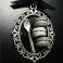 Collier Délice de Réglisse - Coco | Chez Laurette | Macaron | Fait main