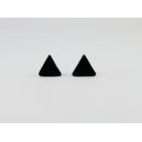 Triangle Noir | Puces, chez laurette polymere fait main montreal triangle