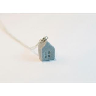 Petite Maison - Argent | Collier