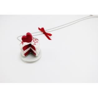 Collier - Gâteau St Valentin