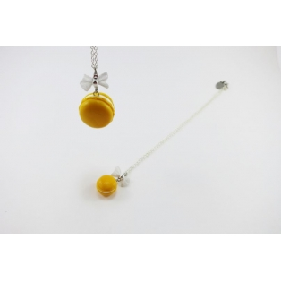 DUO Maxi - Mini | Macaron jaune