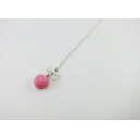 Collier - Macaron rose   ENFANT  