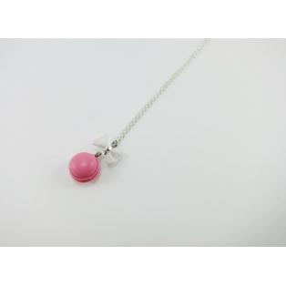 Collier - Macaron rose   MINI  