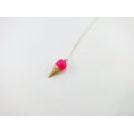 Collier - Cornet rose Flash | MINI |