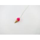 Collier - Cornet rose Flash | MINI |