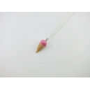 Collier - Cornet rose | ENFANT |