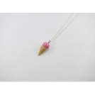 Collier - Cornet rose | MINI |