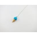 Collier - Cornet bleu | ENFANT |
