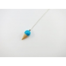 Collier - Cornet bleu | MINI |