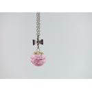 Valentine, Oh Valentine | Collier - Mini Macaron rose / or
