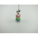 Collier - Part de Rainbow Cake | MINI