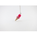 Collier - Cornet double rose & rose flash | ENFANT |