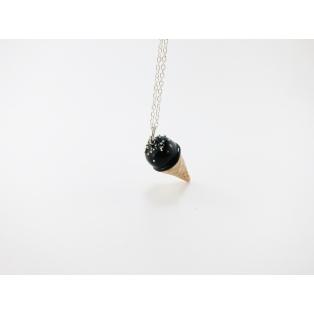 Collier - Cornet noir | ENFANT |