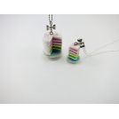 DUO maxi - mini | Collier - Rainbow Cake