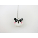 Collier | Maxi Beigne-Panda pandamonamour