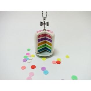 Collier - Rainbow Cake