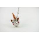 Collier - Beigne-Licorne (mini)