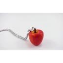 Collier - La pomme (court ou long) | Les pommes de Laurette