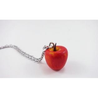 Collier - La pomme | Les pommes de Laurette (mini)