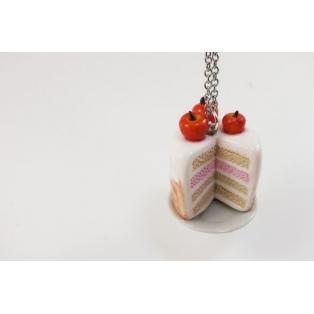 Collier - Gâteau aux Pommes | Les Pommes de Laurette