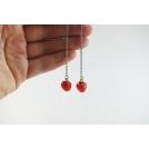 Boucles d'oreille - Pommes pendantes | Les Pommes de Laurette