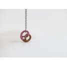 Collier - Bretzel girly (mini) | Chez Laurette