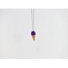 Collier - Cornet violet | MINI |