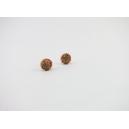 Boucles d'oreille, clou Cookies multicolores - Chez Laurette