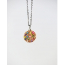 Collier - Cookie multicolore (mini) | Chez Laurette