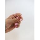Boucles d'oreille, clou Bretzel miniatures - Chez Laurette