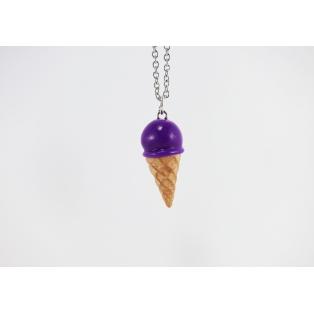 Collier - Cornet Ultra Violet   Mini   Chez Laurette