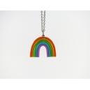 Collier Arc en ciel Multicolore | MAXI | Chez Laurette