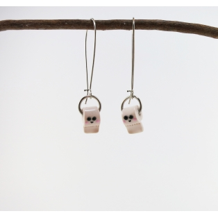 LIVRAISON GRATUITE | Boucles d'oreille pendantes | Adorable Papier toilette | Chez Laurette