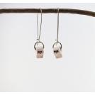 Boucles d'oreille pendantes | Adorable Papier toilette | Chez Laurette