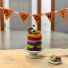 Collier - (MAXI) Gâteau Halloween | Chez Laurette