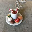 Collier - Assiette de goûter de Noël | Maxi