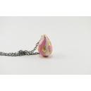 Collier mini coco de Pâques Rose/gold | (MINI) | Chez Laurette